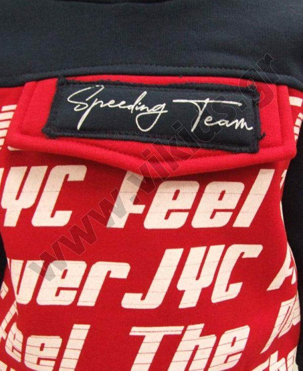 Σετ φόρμες φούτερ με κουκούλα POWER JYC 202218 Joyce