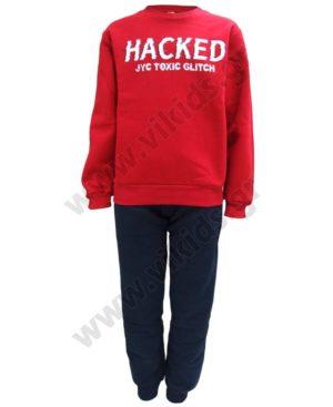Σετ φόρμες φούτερ για αγόρια HACKED 202472 Joyce