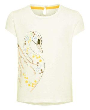 Κοντομάνικο T-Shirt ΚΥΚΝΟΣ nameit 3390 υπόλευκο