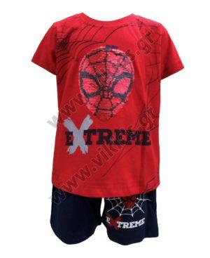 Σετ με T-Shirt ΑΝΘΡΩΠΟΣ ΑΡΑΧΝΗ Hashtag 214809 κόκκινο