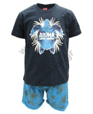Σετ T-Shirt και βερμούδα ALOHA 211379 Joyce