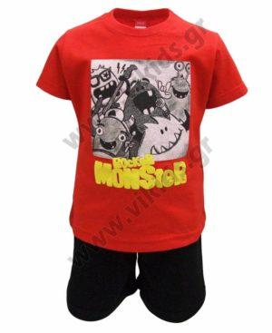 Σετ T-Shirt και βερμούδα ROCKER MONSTERS 211383 Joyce
