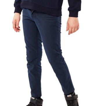 Παντελόνι με σχέδιο 215715 Hashtag μπλε