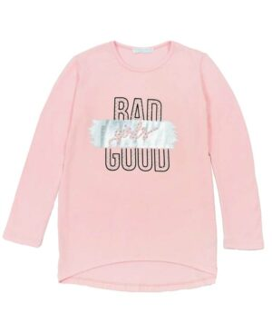 Μπλούζα BAD GOOD GIRLS 215112 ΕΒΙΤΑ ροζ