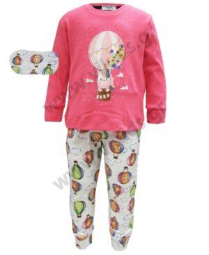 Σετ πυτζάμες για κορίτσια ΑΕΡΟΣΤΑΤΟ ΕΒΙΤΑ Η-104