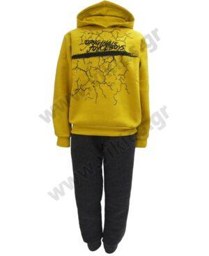 Σετ φόρμες φούτερ με κουκούλα ORIGINALS 216706