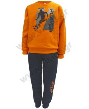Σετ φόρμες φούτερ PLAYER 216725 Joyce πορτοκαλί