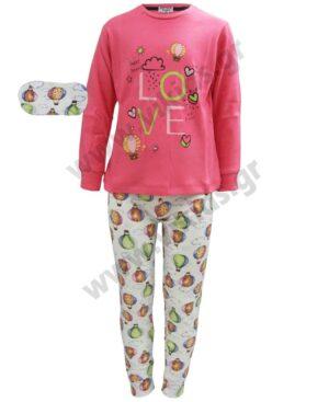 Σετ πυτζάμες για κορίτσια LOVE EBITA Η-111