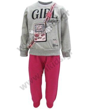 Σετ φόρμες φούτερ για κορίτσια GIRL PLAYER 216108 Joyce