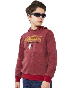 Μπλούζα με κουκούλα EVER TRIED 215734 Hashtag γκρενά