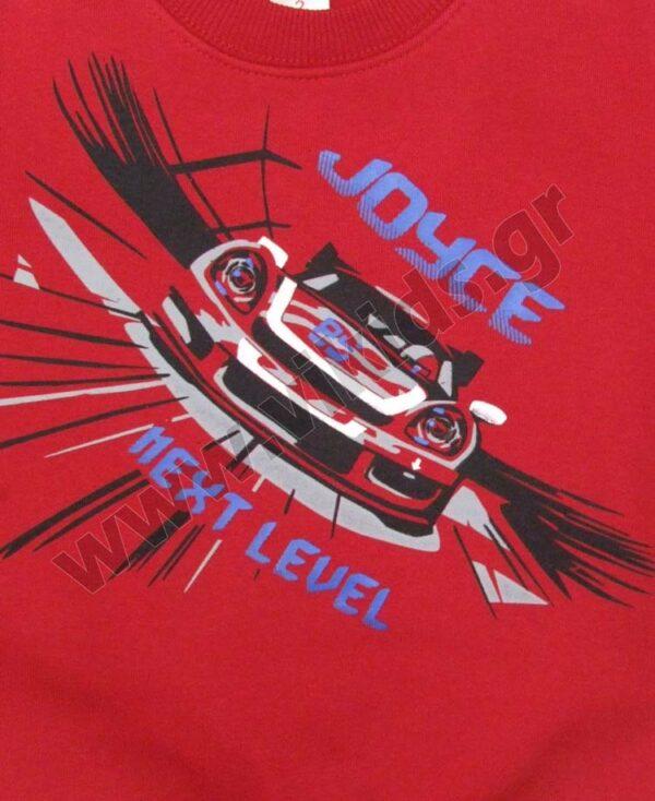 Σετ φόρμες φούτερ NEXT LEVEL 216322 Joyce κόκκινο
