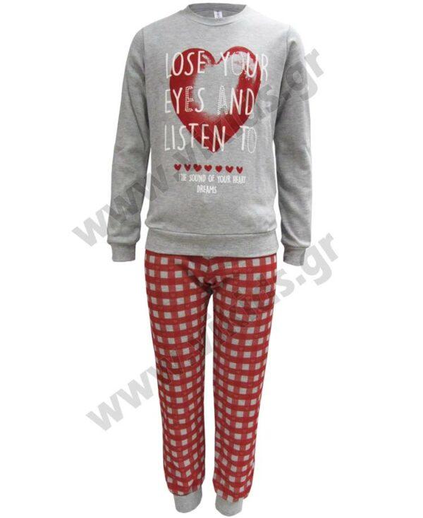 Σετ πυτζάμες για κορίτσια SOUND OF HEART 217504 Dreams