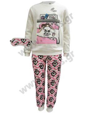 Σετ πυτζάμες για κορίτσια NAP QUEEN 217505 Dreams