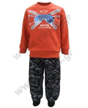 Σετ φόρμες φούτερ SNOWBOARDING 216327 Joyce